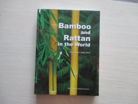 Bamboo and Rattan in the World 世界竹藤(英文版)  16开精装! 143
