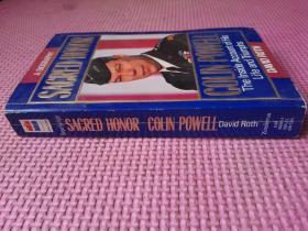 【英文原版】Sacred Honor: A Biography of Colin Powel(圣战黑鹰:沙漠风暴名将鲍威尔传奇)