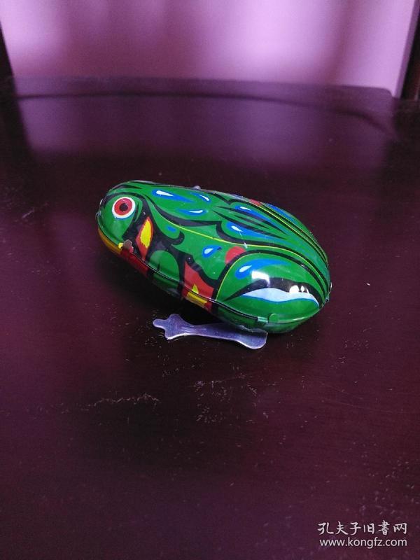铁皮青蛙.
