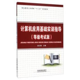 正版送书签wm~计算机应用基础实训指导(等级考试版) 9787113207