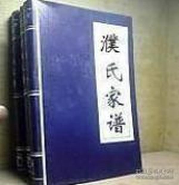 (正版)线装 锦面 寻根祭祖 修谱 16开 濮氏家谱