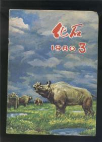 化石 1980年第3期(季刊,16开)2018.9.28日上