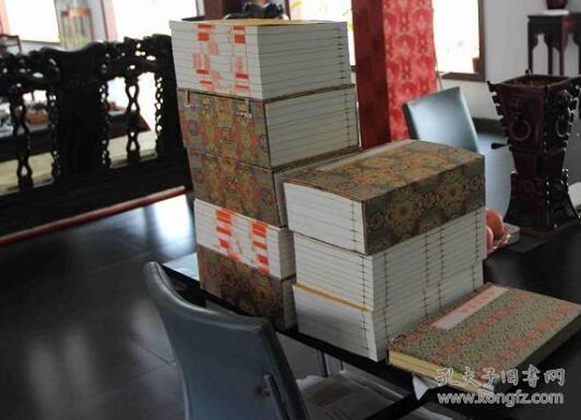 线装本中国四大名著(红楼梦 水浒传 三国演义 西游记) 16开线装 四函40册 宣纸线装