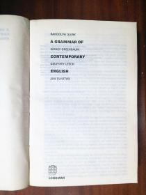 DICTIONARY   A  GRAMMAR  OF CONTEMPORARY  ENGLISH
