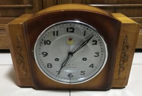 80年代大连火炬牌15天老座钟机械座钟怀旧收藏正常走时