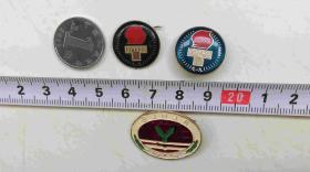 胸章-退休纪念3个