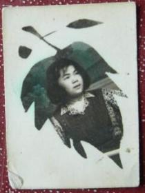 老照片:美女,送给邓同志,1953年,丽珍【陌上花开系列】