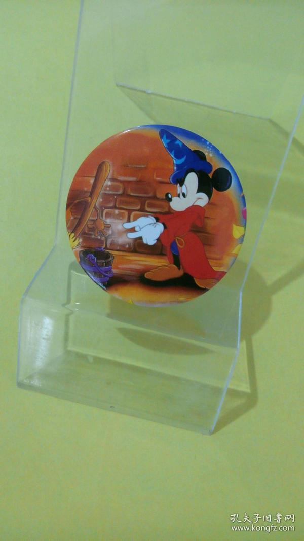 米老鼠魔法师(迪斯尼动漫铁皮徽章)