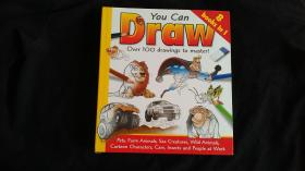 You Can Draw Over 100 drawings to master! 8 books in 1