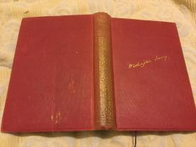 The Sketch Book by Washington Irving. 华盛顿·欧文《 见闻札记/  拊掌录》,Frank Pember优雅插图,1908小开本精装本,古董级,孔网唯一
