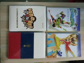 2014巴西世界杯32强球星卡套+2018俄罗斯世界杯漫画球星卡套(塑料活页套装)全新2本