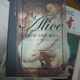 alice in wonderland 韩文版