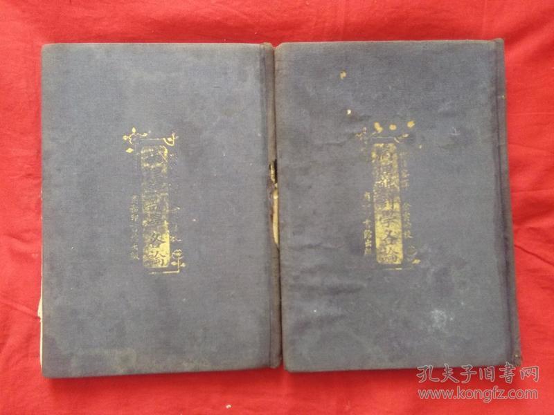民国11年初版精装《病理解剖学各论》上下两册全~~站内唯一一套
