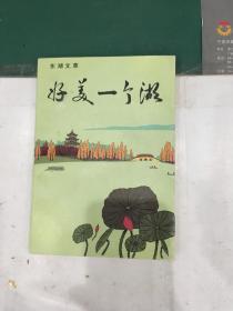 好美一个湖(东湖文萃,胡发云题跋本,美好祝福)