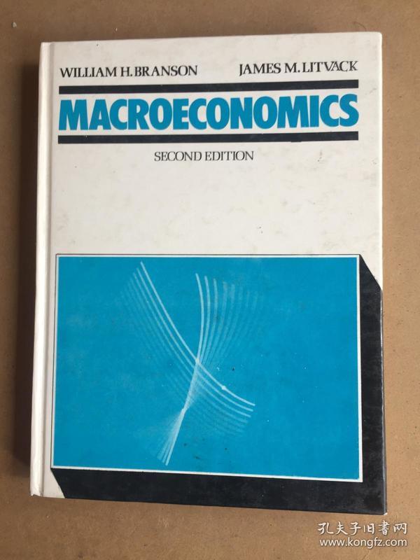 MACROECONOMICS SECOND EDITION 宏观经济学第二版【精装16开】