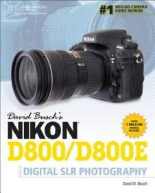 9781285084510David Buschs Nikon D800/D800e Guide to Digital Slr