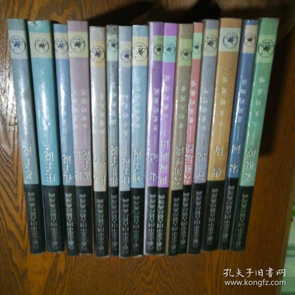 蔡志忠中国古籍经典漫画.珍藏版 16册全