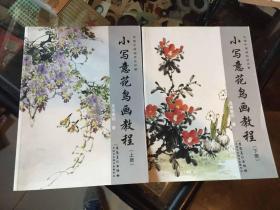 传统中国画技法详解【小写意花鸟画教程】上下册 全套2册