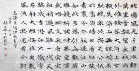㊣㊣【来自本人真迹】赫大龄/中国书法家协会会员/国家一级美术师/吉林省书协理事/四尺书法1《泌园春·雪》(136×68cm) 附书法家价格图。