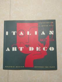 英文原版  ITALIAN ART DECO   意大利艺术装饰