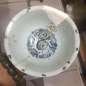 明代青花碗