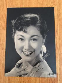 五六十年代日本明星照片一张