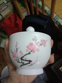 勿直接下单 《中国醴陵款瓷器--带盖完整》---红梅很漂亮----此物议价销售---其它喜字.铜器.杂件喜欢的朋友可以发信息联系