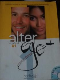 ALTER EGO + 1:Livre de llve + CD-ROM + Projets(附光盘)