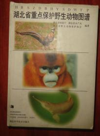湖北省重点保护野生动物图谱【精装本有书衣】