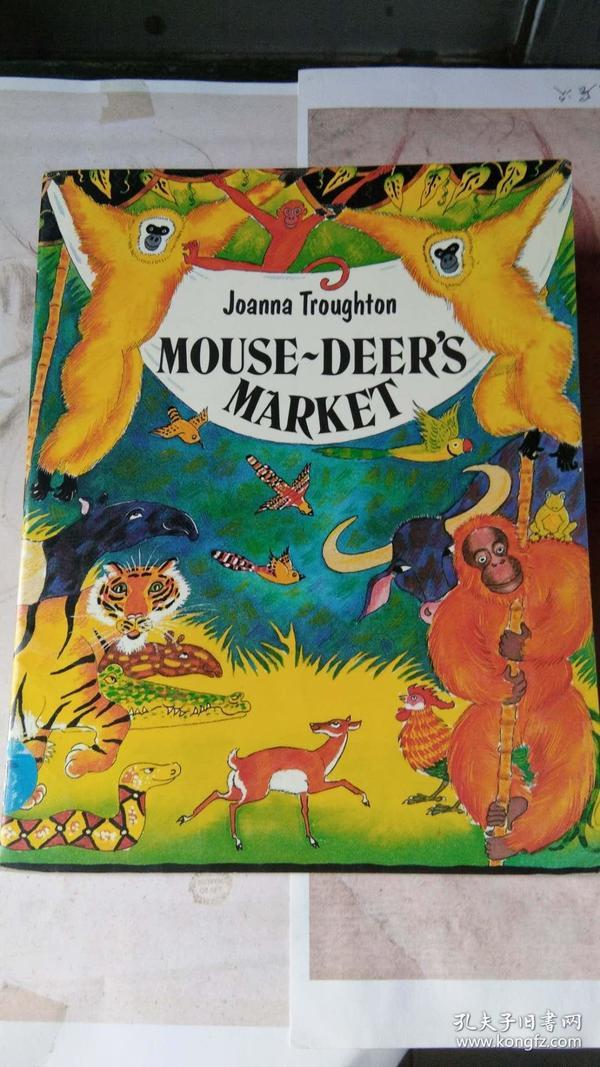 MOUSE-DEERS MARKET  鼠鹿市场  儿童绘本