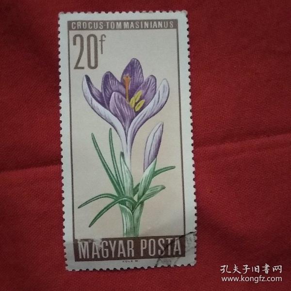 外国邮票花卉植物2