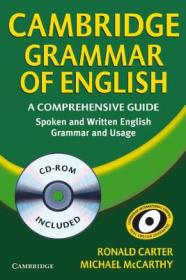 Cambridge Grammar of English Paperback with CD-ROM