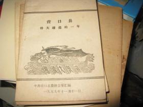 营口县特大耀进的一年  1959年版