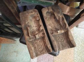 潮州木雕,狮子模具,祭拜的糖狮