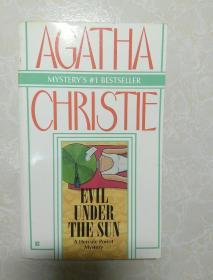 英文原版   Evil Under the Sun 阳光下的罪恶 by Agatha Christie阿加莎克里斯蒂