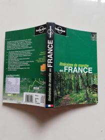 lonely plonet itineraires de marche en  FRANCE