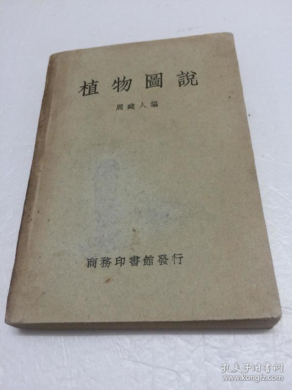 植物图说 [民国版  1950年二印]