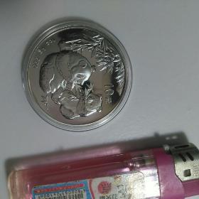 熊猫币10元2006年(带原盒)A3盒