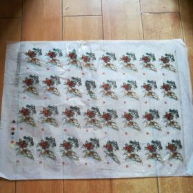 瓷用花纸(武松打虎,32枚)