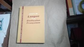 (法文原版)cours de Langue et de Civilisation Francaises(法国语言与法国文化课程)(详情请看图)