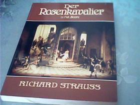 施特劳斯《蔷薇骑士》全谱Der Rosenkavalier in Full Score(Richard Strauss)英文原版乐谱曲谱