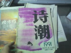 诗潮1991年五,六月号总第39期