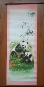 1987安徽美术出版社 熊猫年画原稿