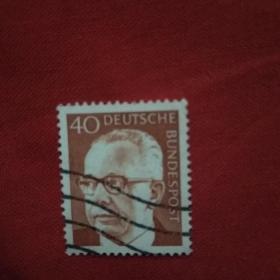 外国邮票人物头像