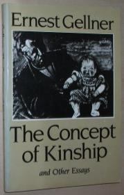 英文原版书 The Concept of Kinship: And Other Essays on Anthropological Method and Explanation