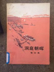 洞庭朝晖:散文集