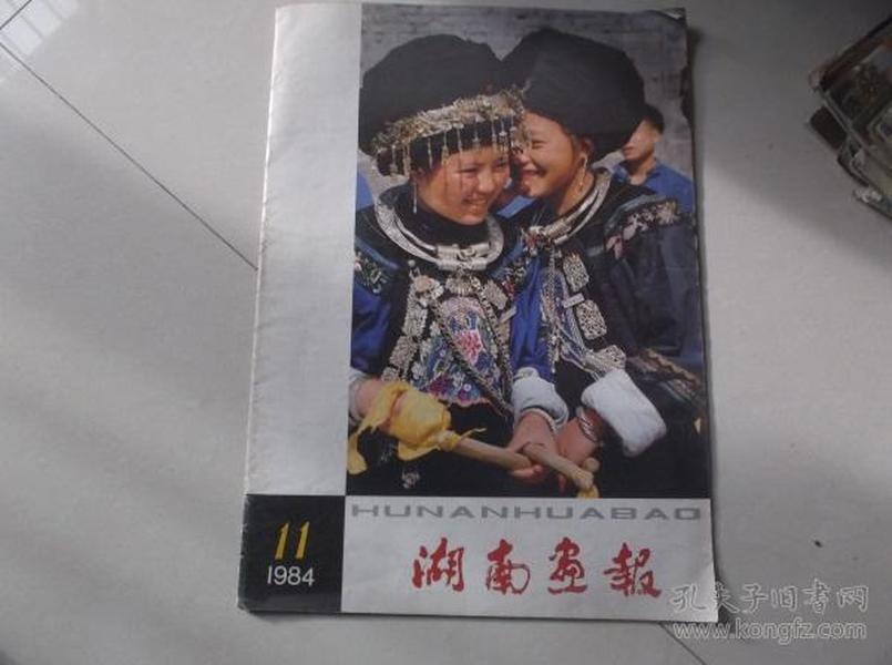 湖南画报1984-11