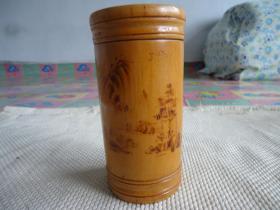木茶叶筒,木茶叶盒