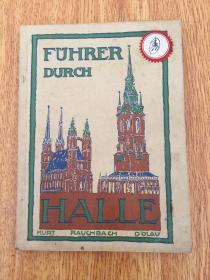 【民国欧美书35】1921年德国出版《HALLE(德国哈雷)》图片多