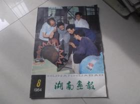 湖南画报1984-8